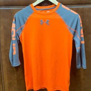 Under Armor Baseball Shirt with UA on both sleeves